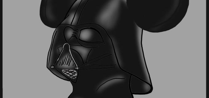 Malte Klingenhäger Comic: Come to the Dark Side