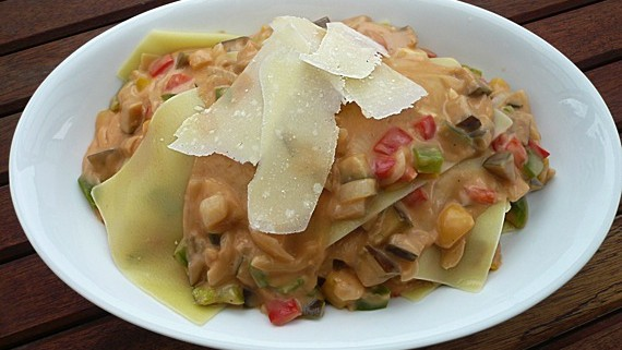 Malte Evers Rezept: Offene Lasagne