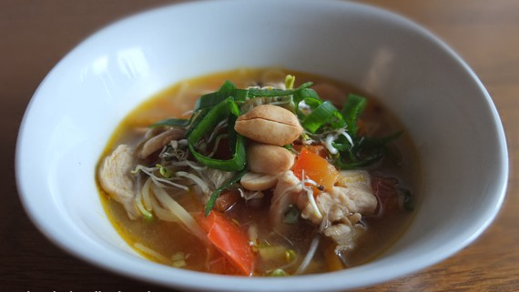 Malte Evers Rezept: Schnelle Hühnersuppe Asia-Style 2