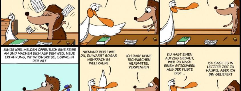 Der Wo Ente: Eine Reise