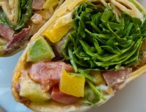 Malte Evers Rezept: Vegetarischer Wrap