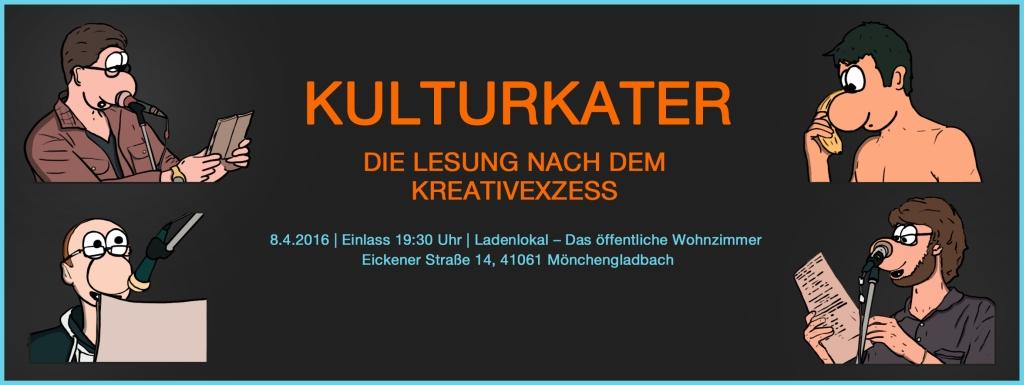 Kulturkater – Die Lesung nach dem Kreativexzess #2