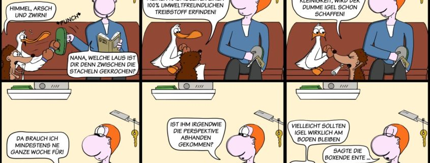 Der Wo Ente: Am Boden bleiben