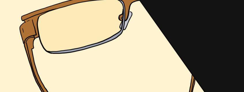 Sarah Chiyad Kurzgeschichte: Neulich beim Optiker