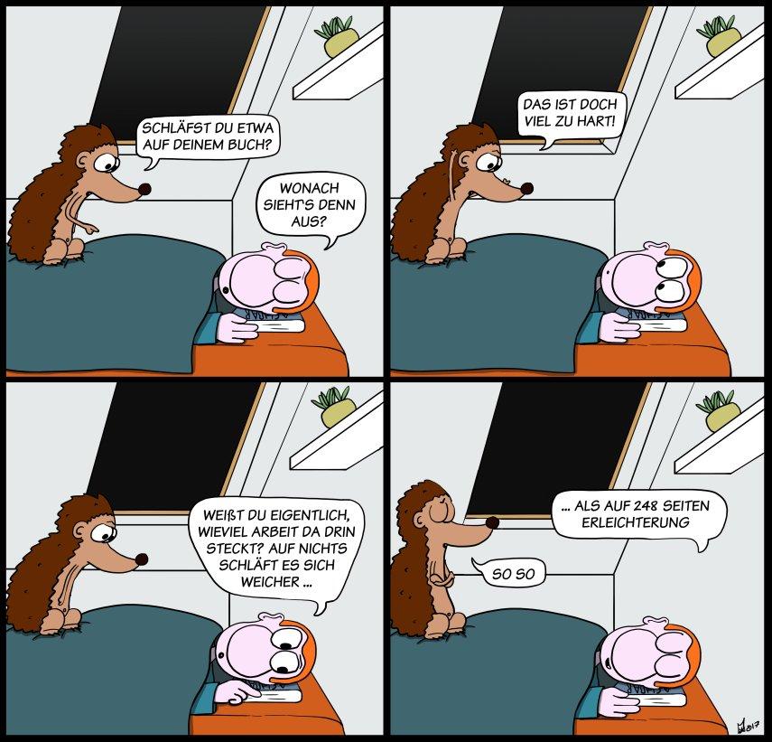 Der Wo Ente: Härtegrad der Entspannung