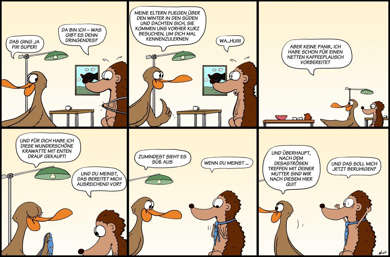 Der Wo Ente: Überraschung