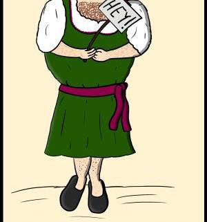 Malte Klingenhäger Comic: Sexismussamstag 1 – Armer Wolfgang