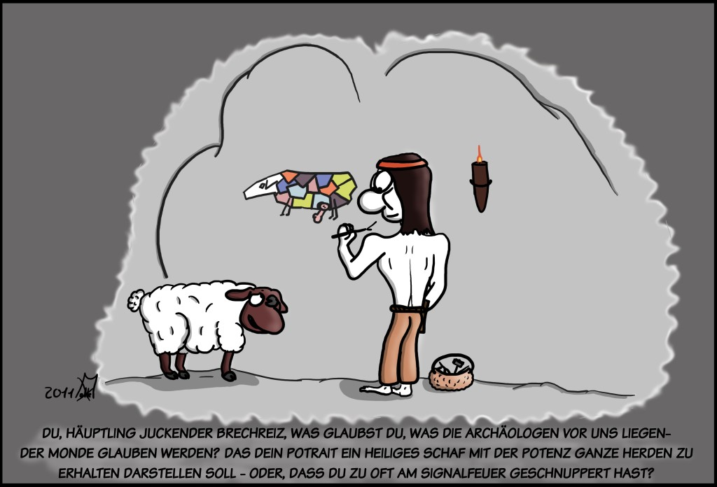 Malte Klingenhäger Comic: Erhaltet die Herde
