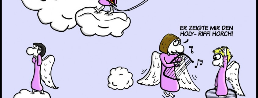 Malte Klingenhäger Comic: Der Holy-Riff
