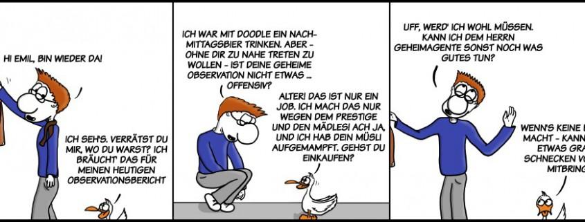 Der Wo Ente: Offensive Observation