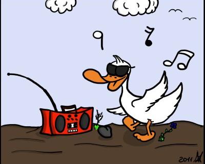 Der Wo Ente: Abrocken