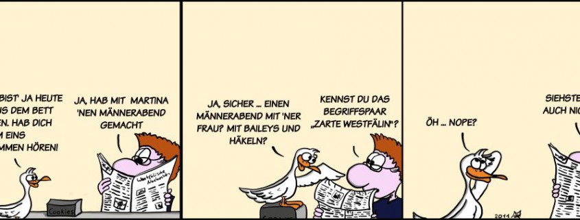 Der Wo Ente: Zarte Westfälinnen