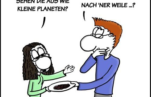 Der Wo Ente: Spacecookies