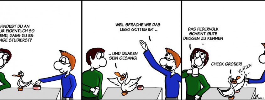 Der Wo Ente: Das Lego Gottes
