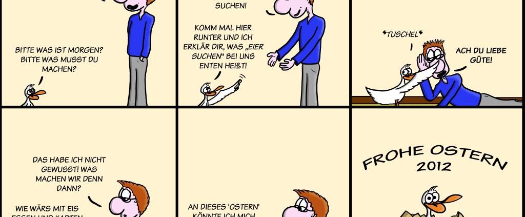 Der Wo Ente: Frohe Ostern 2012