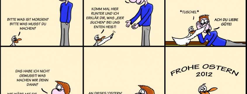 Der Wo Ente: Frohe Ostern 2012