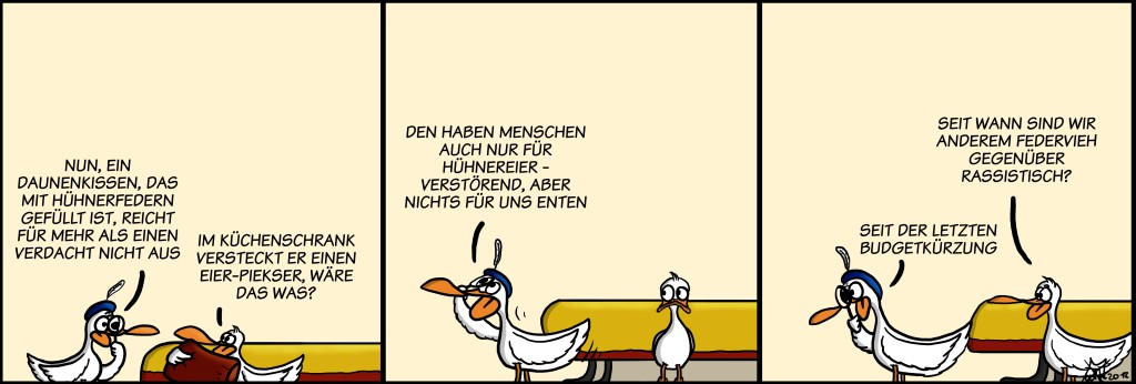 Der Wo Ente: Entenrassismus