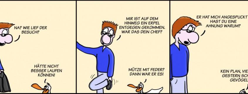 Der Wo Ente: Angespuckt