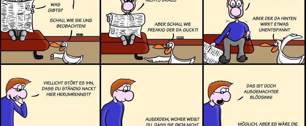 Der Wo Ente: Schräge Gestalten