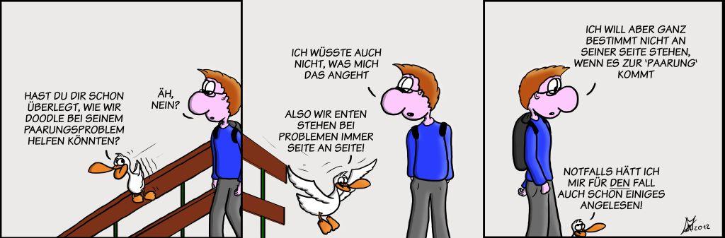 Der Wo Ente: Paarungsprobleme
