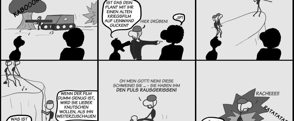 Der Wo Ente: Krieg und Knutschen
