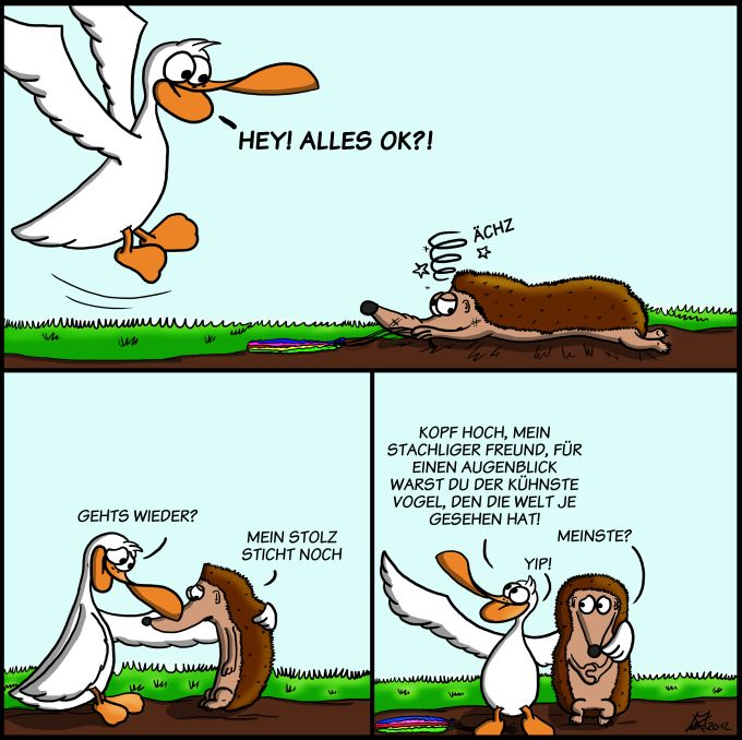 Der Wo Ente: The Igel has landed