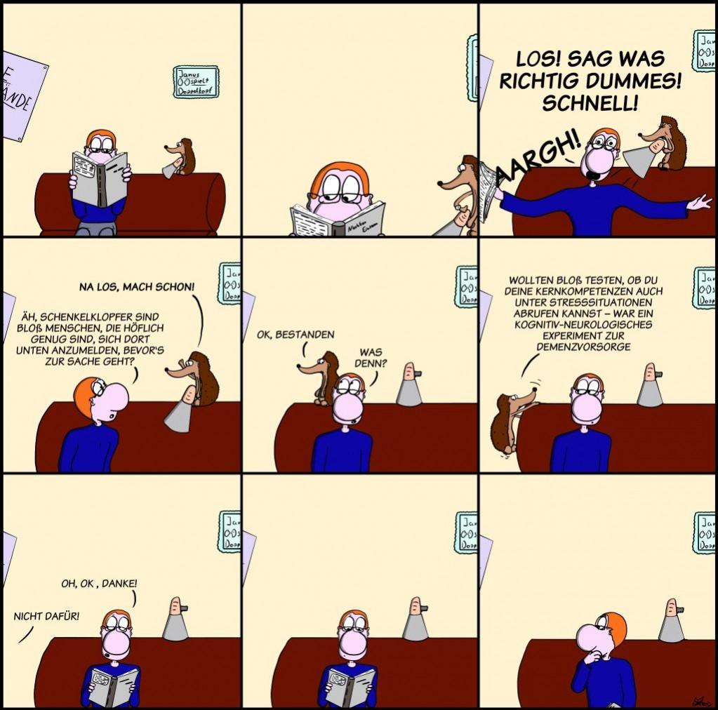 Der Wo Ente: Demenzvorsorge