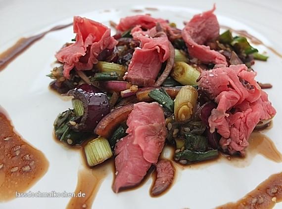 Malte Evers Rezept: Rindfleisch-Lauch Salat 2