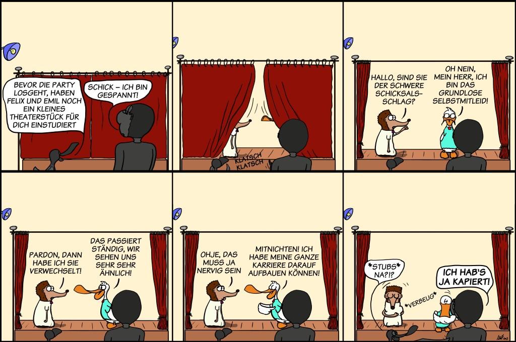 Der Wo Ente: Theaterpädagogik