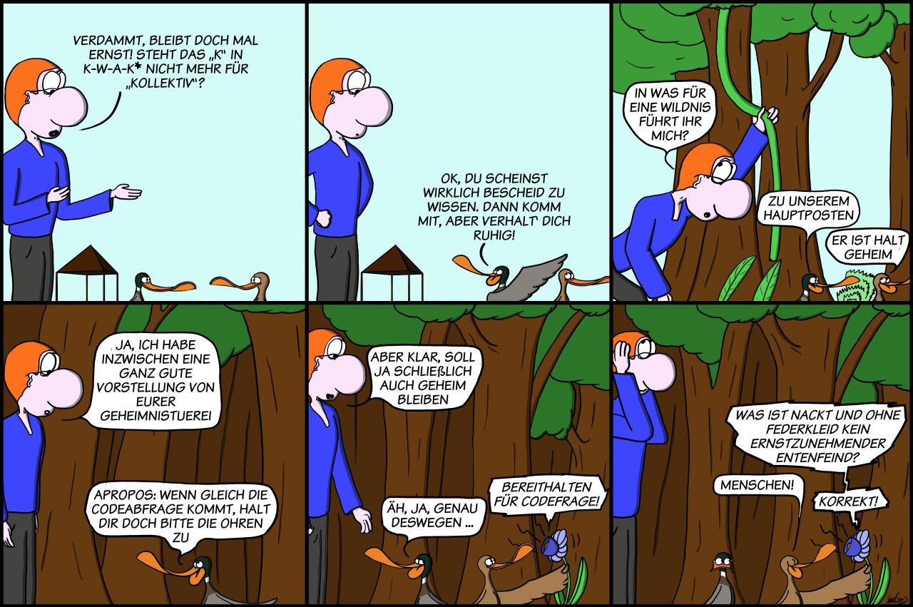 Der Wo Ente: Das K in Kollektiv