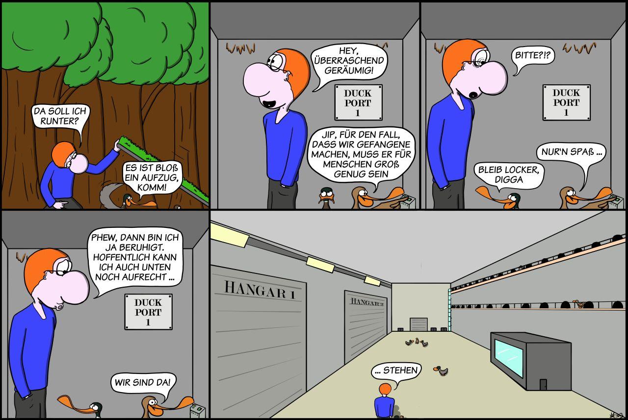 Der Wo Ente: Homo Captivus Erectus
