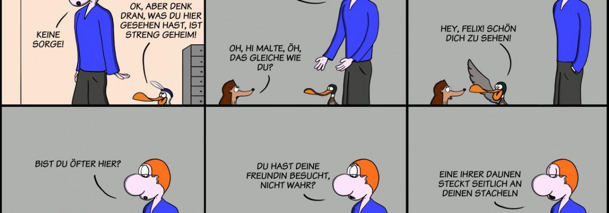 Der Wo Ente: Verräterische Daunen