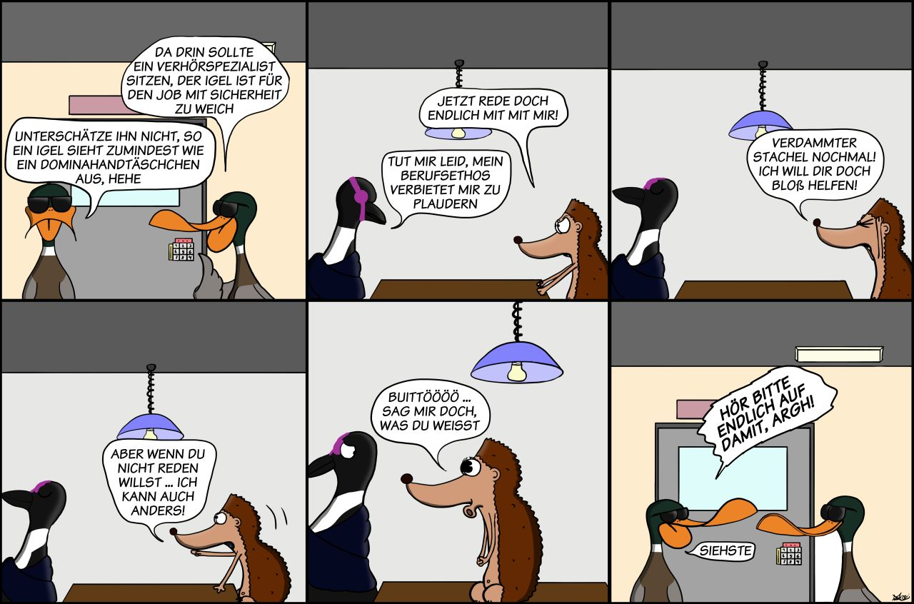 Der Wo Ente: Er kann auch anders