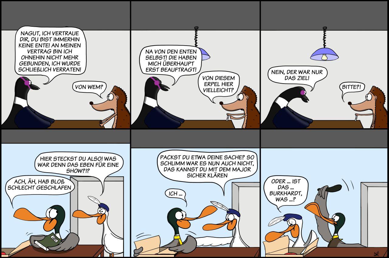 Der Wo Ente: Knüppeldicker Verrat