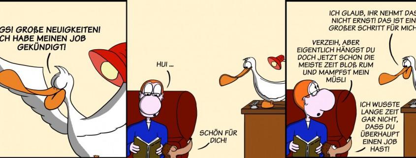 Der Wo Ente: Große kleine Neuigkeiten