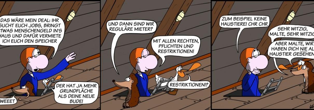 Der Wo Ente: Restriktionen