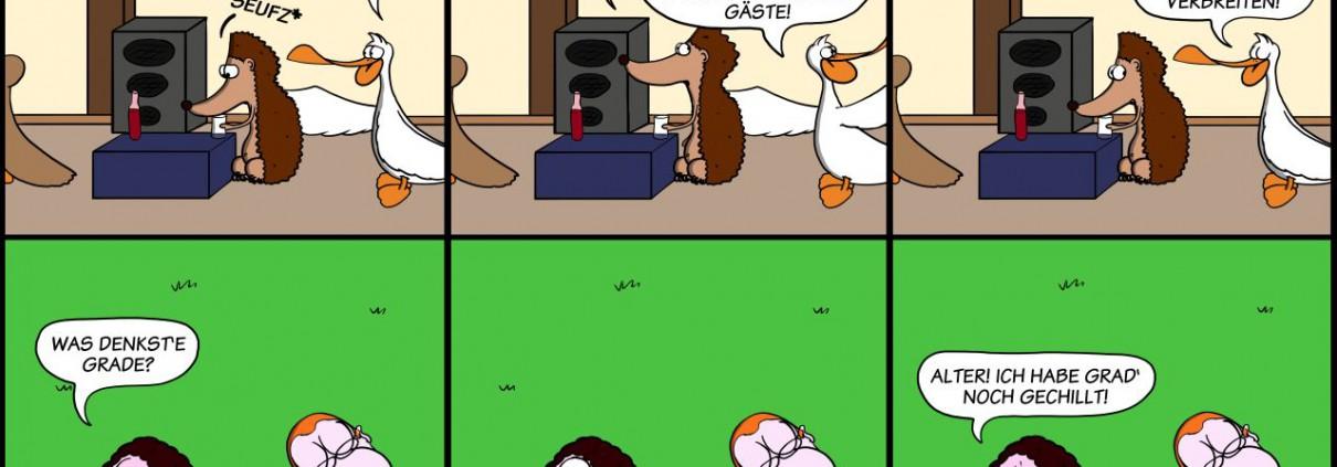 Der Wo Ente: Üblicher Frohsinn