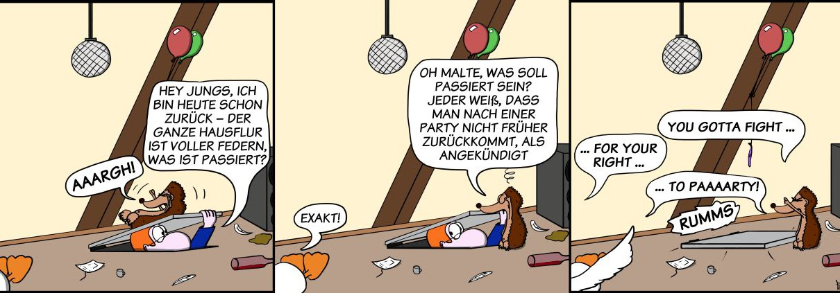 Der Wo Ente: You Gotta Fight