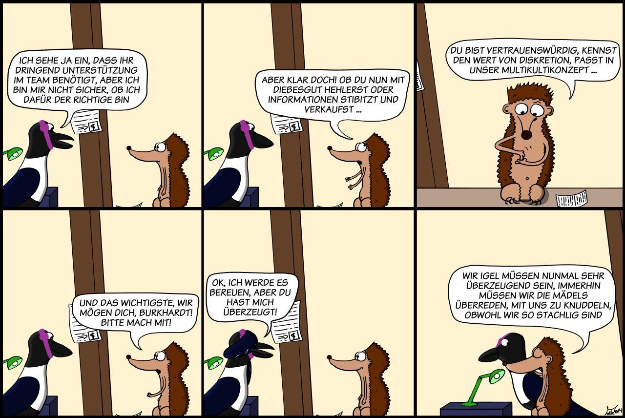 Der Wo Ente: Überzeugungskraft