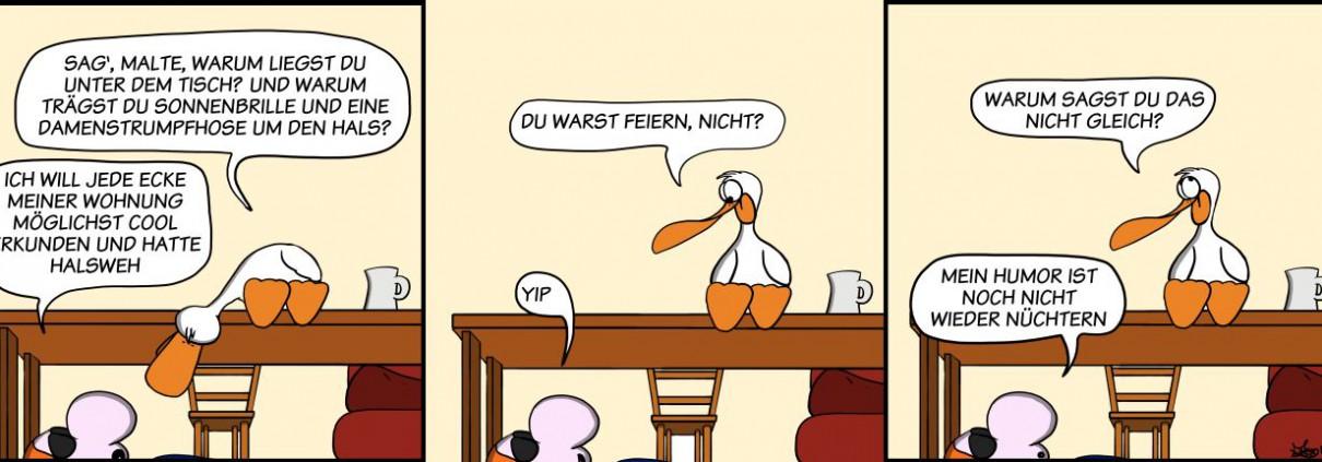 Der Wo Ente: Feuchter Humor