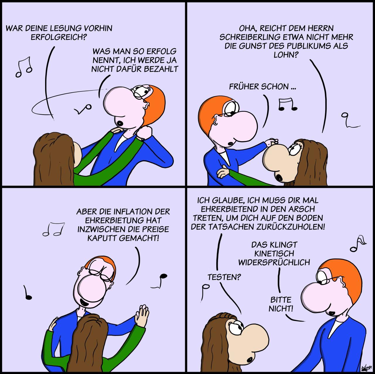 Der Wo Ente: Kinetisch Kontraproduktiv