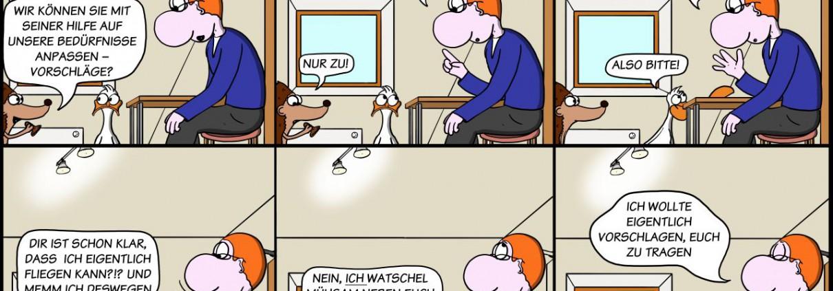Der Wo Ente: Memm nicht