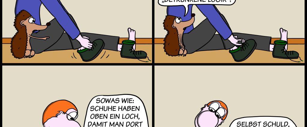 Der Wo Ente: Betrunkene Logik