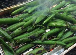Malte Evers Rezept: Erbsen vom Grill