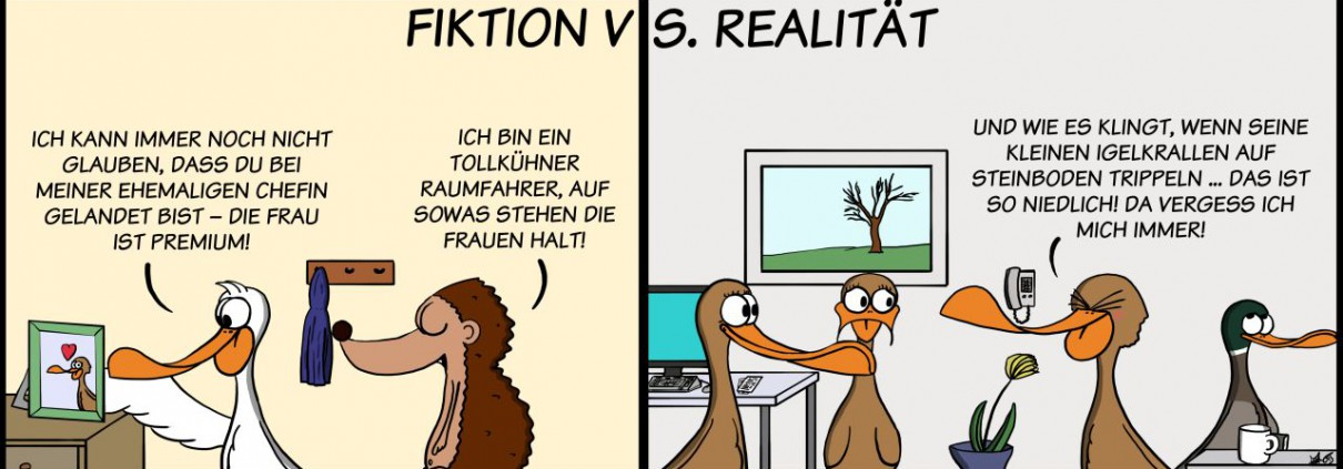 Der Wo Ente: Fiktion vs. Realität