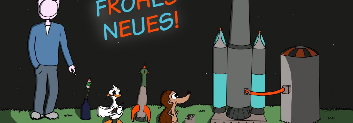 Der Wo Ente: Frohes Neues 2015!