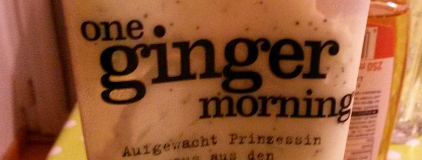 Blogbeitrag: Ginger-Morning