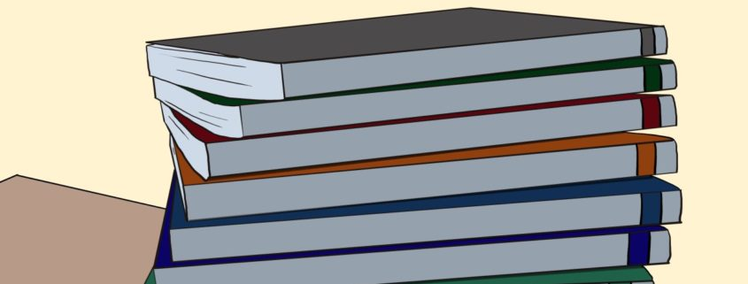 Ausschnitt Bücher - Malte Klingenhäger