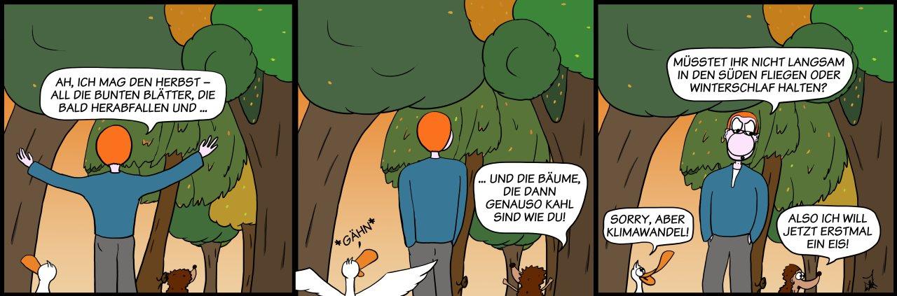 Der Wo Ente: Kimawandel
