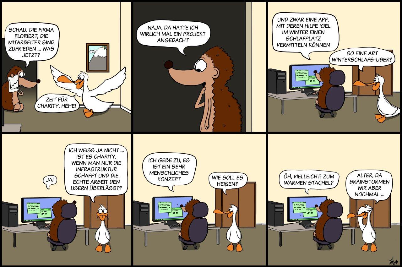 Der Wo Ente: Charity 2.0